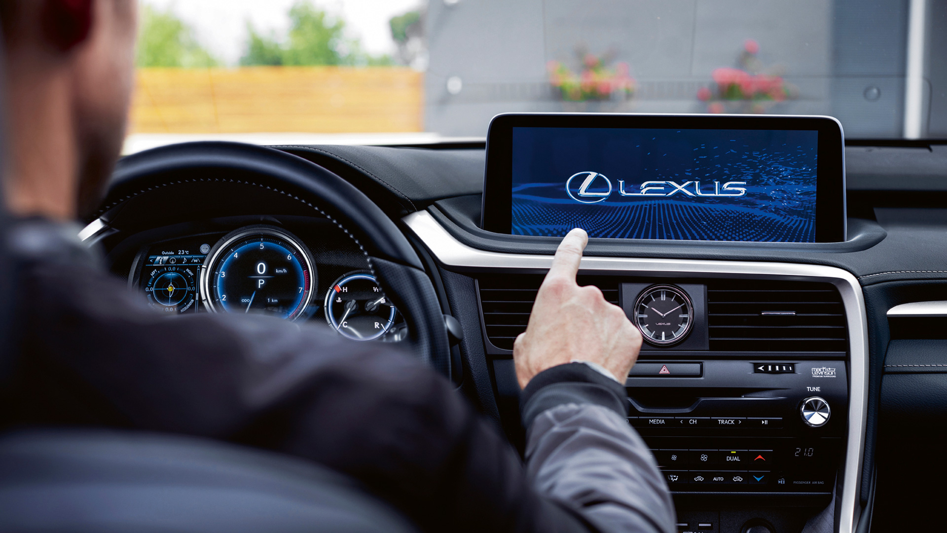 lexus connected accessories landscape