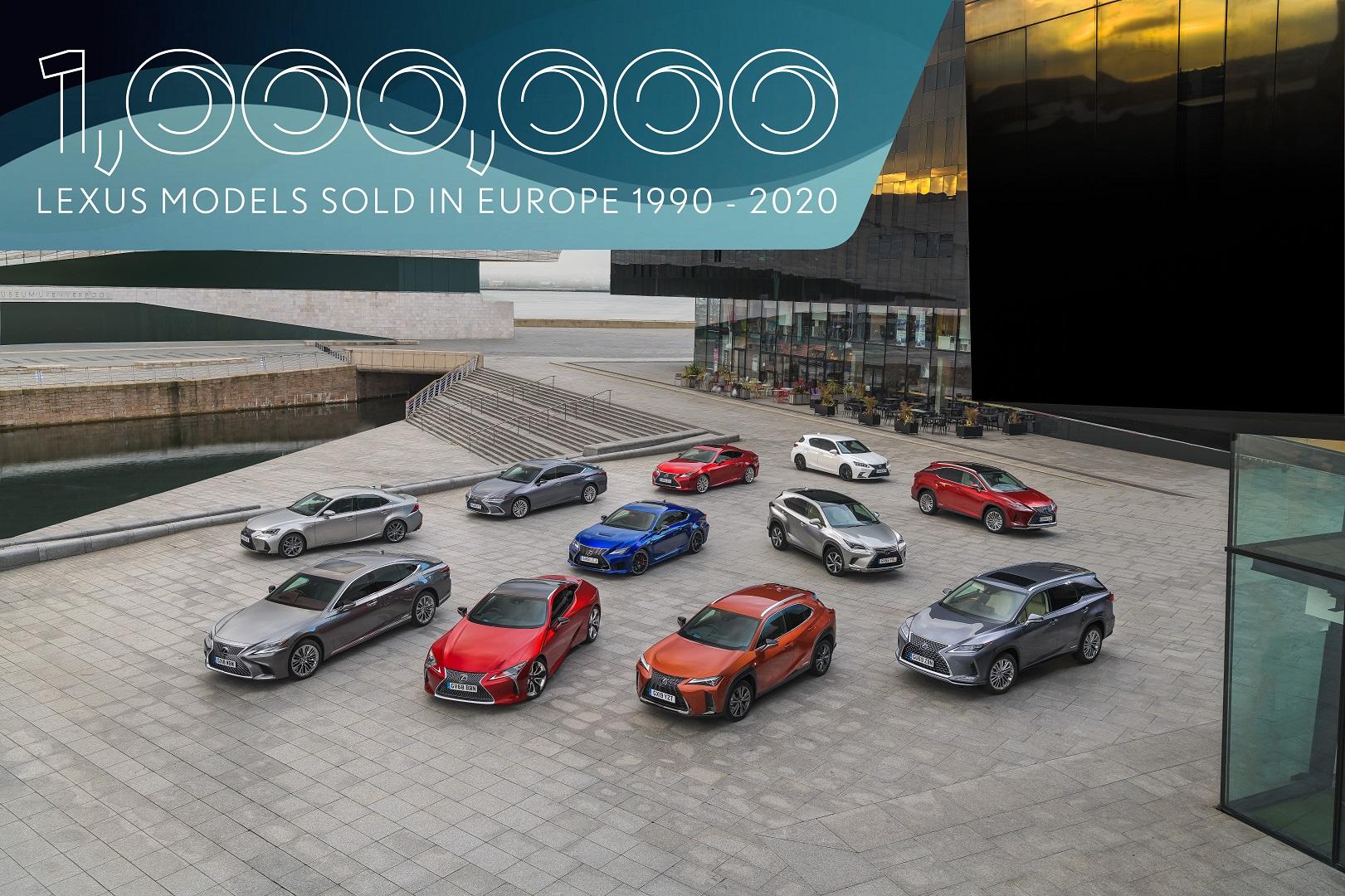 Lexus atinge um milhao de vendas na europa Hero