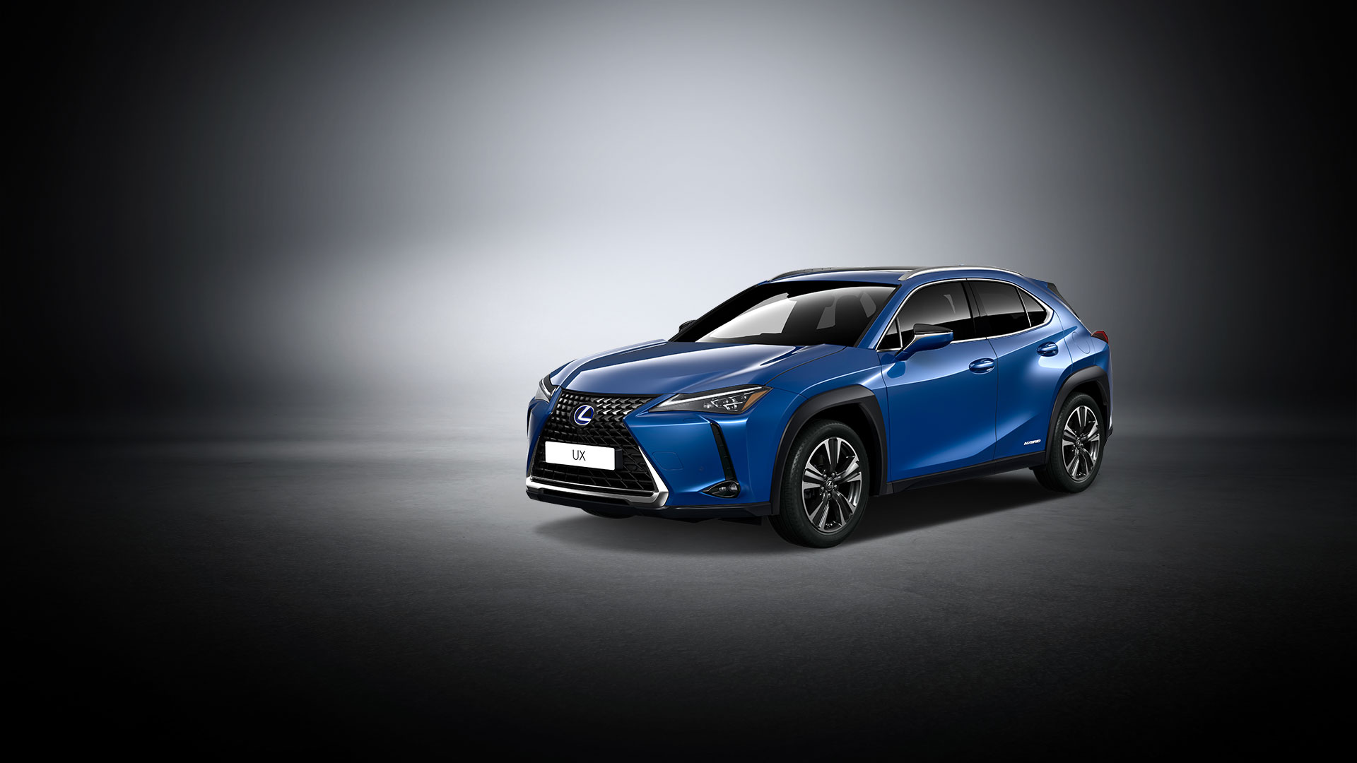 2018 lexus ux interactive design colour celestial blue product