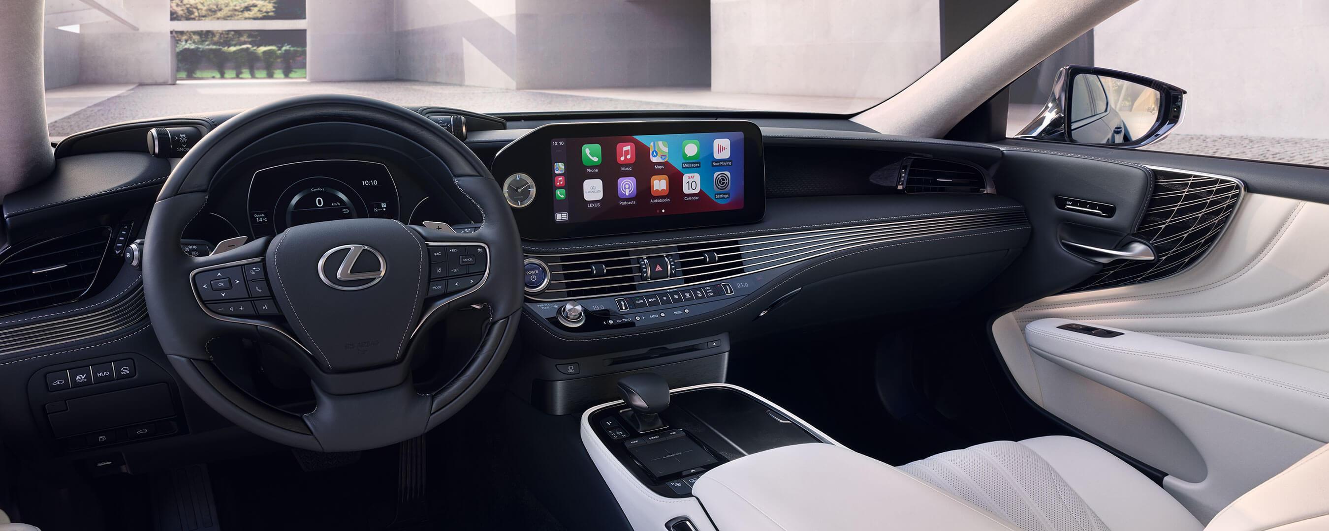 2021 lexus ls experience interior front