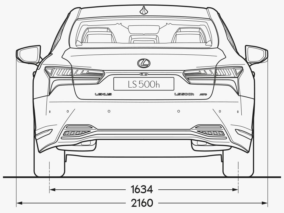 LS Rear Dimensions Image
