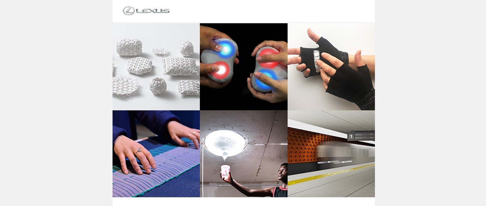 Lexus design award 2021 seleciona seis finalistas Image