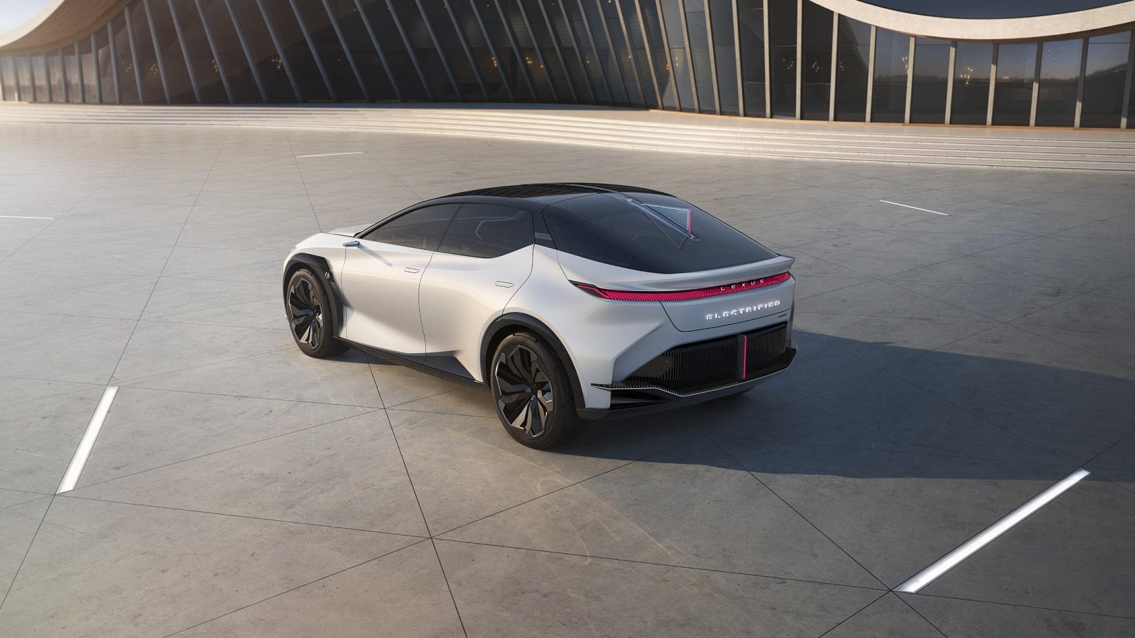 Lexus com estreia mundial do LF Z Electrified Image