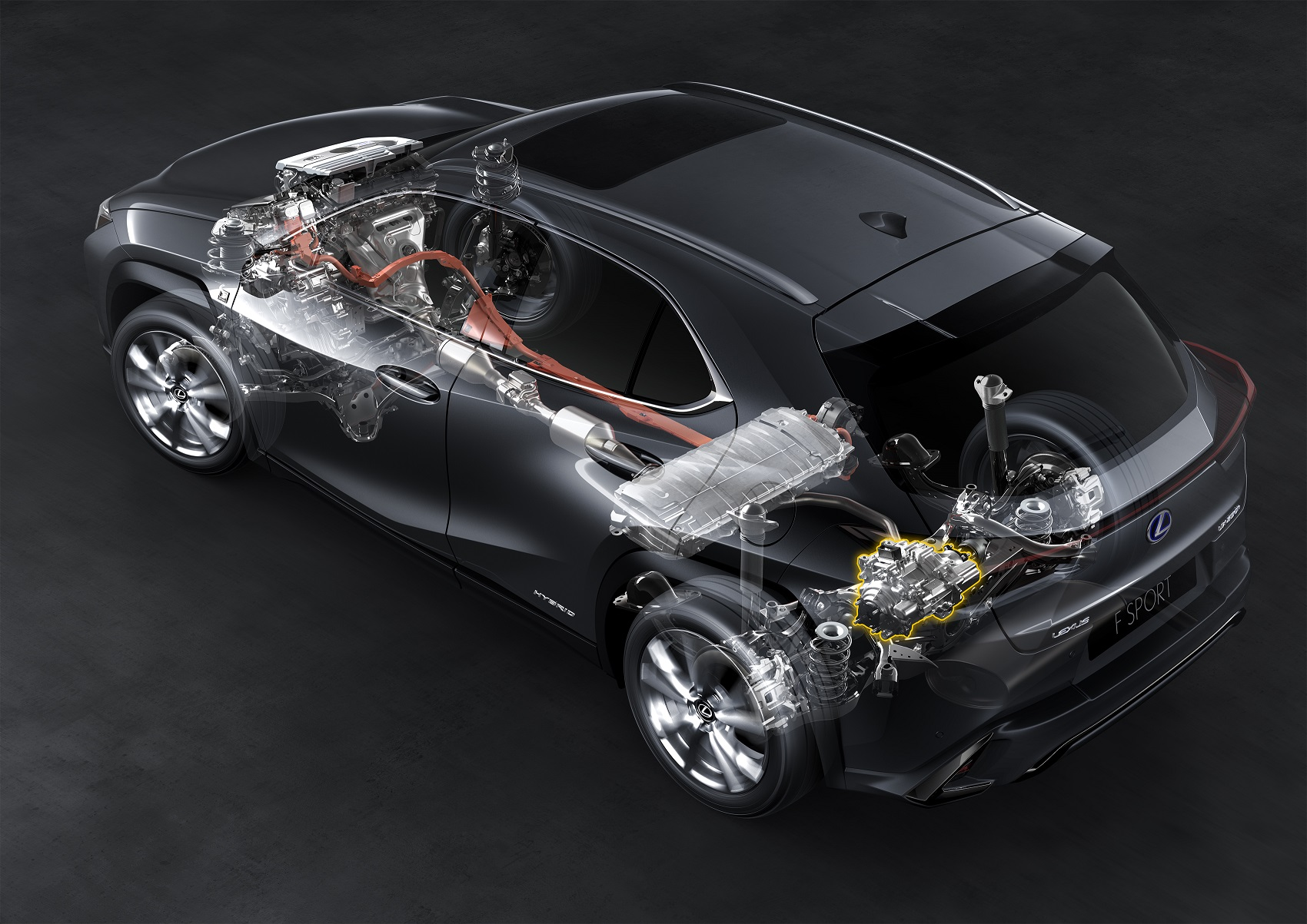 Lexus UX 250H eletrificado com sistema self Charging hybrid