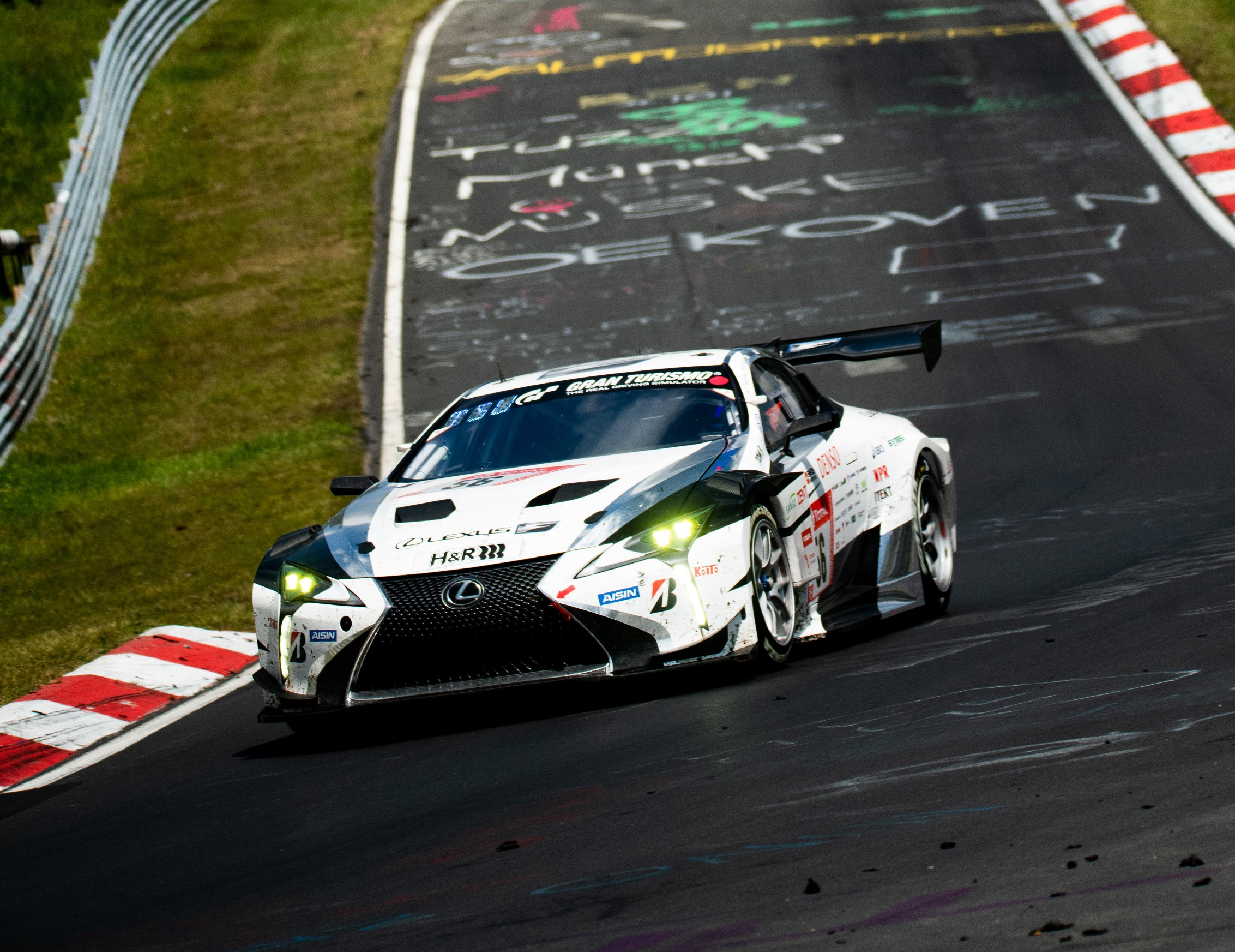 Lexus confirma o LC para as 24 horas de Nurburgring 2020