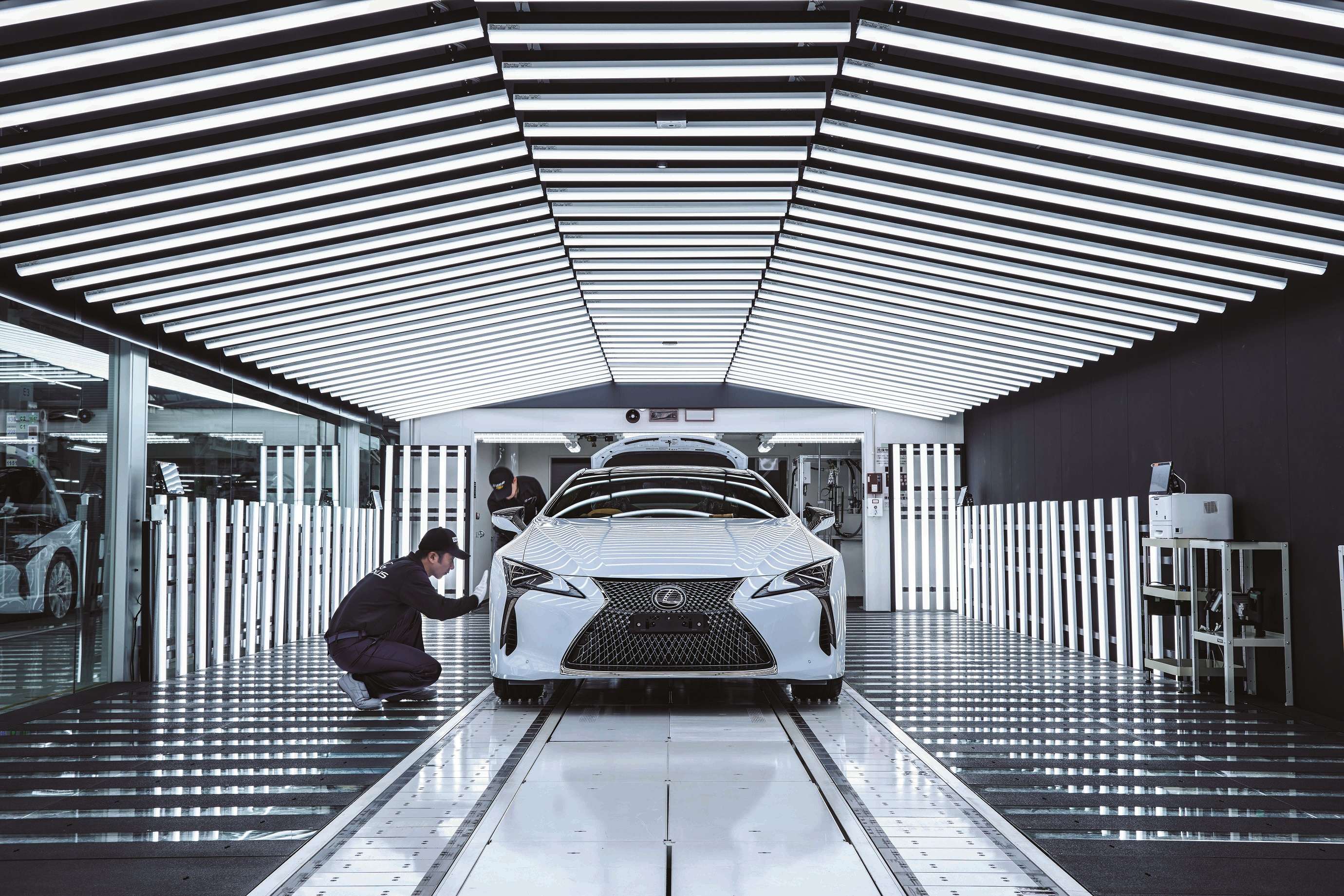 Documentario lexus Takumi Living