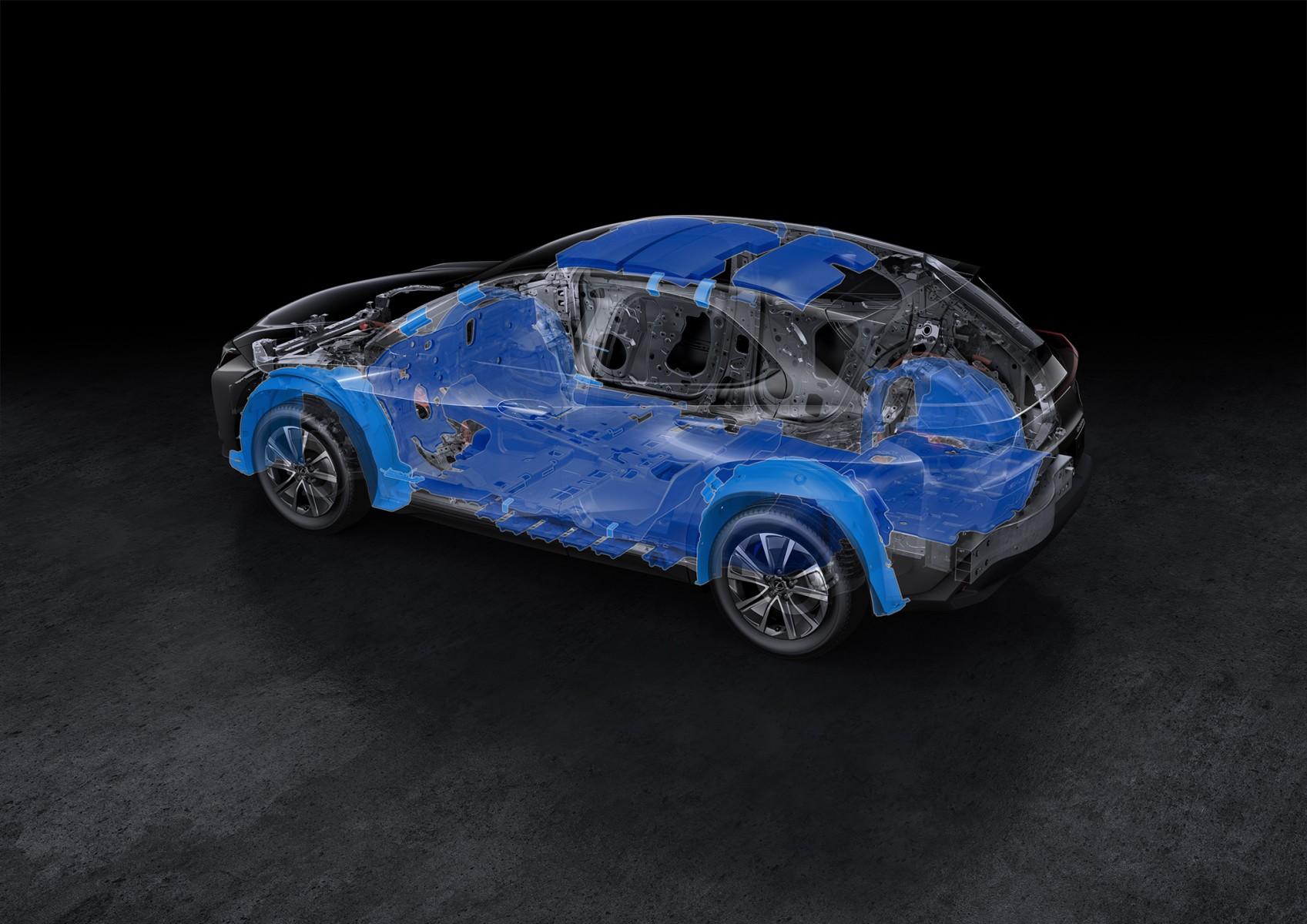 Lexus UX 300e anuncia marco na revolucao silenciosa da marca