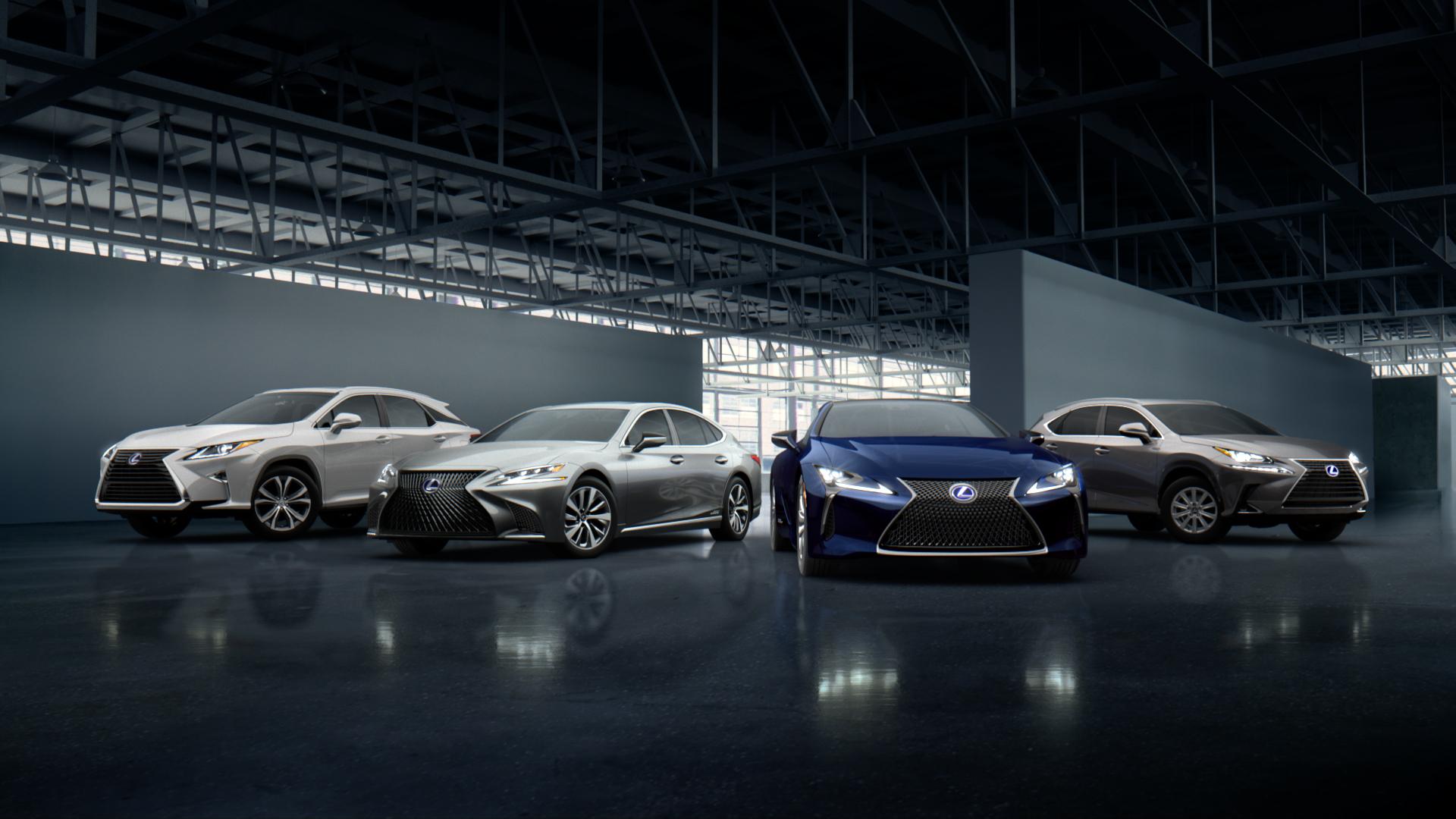 Lexus celebra 10 milhoes de veiculos vendidos em todo o mundo