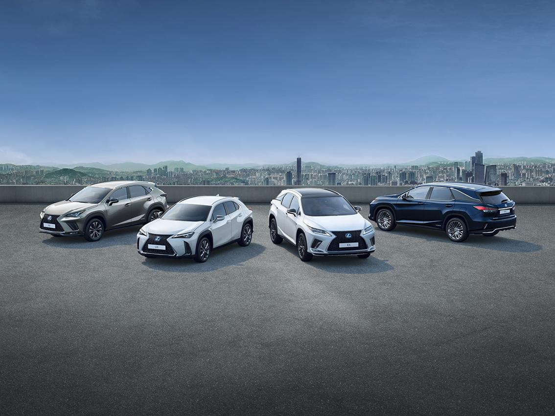Lexus vende 250 mil suv