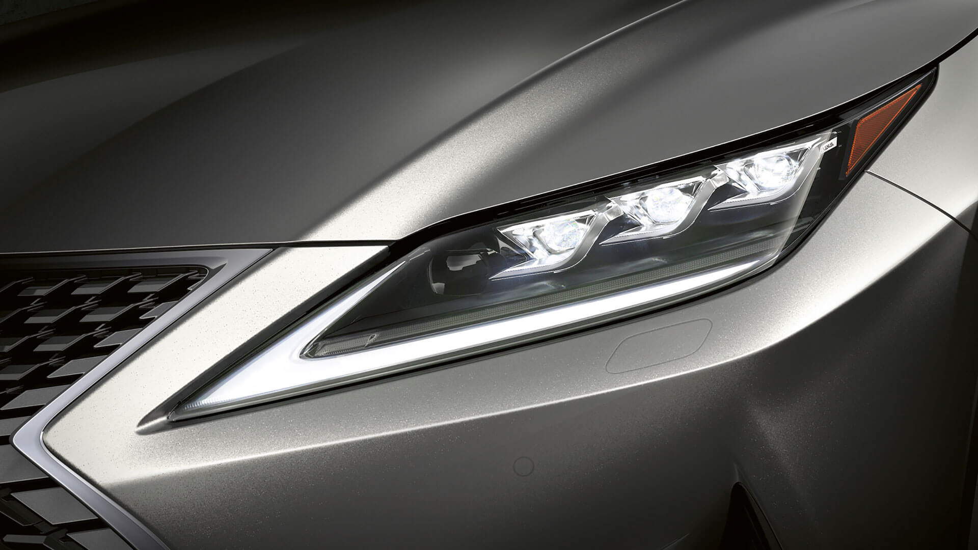 2019 lexus rx hotspot exterior triple led headlights
