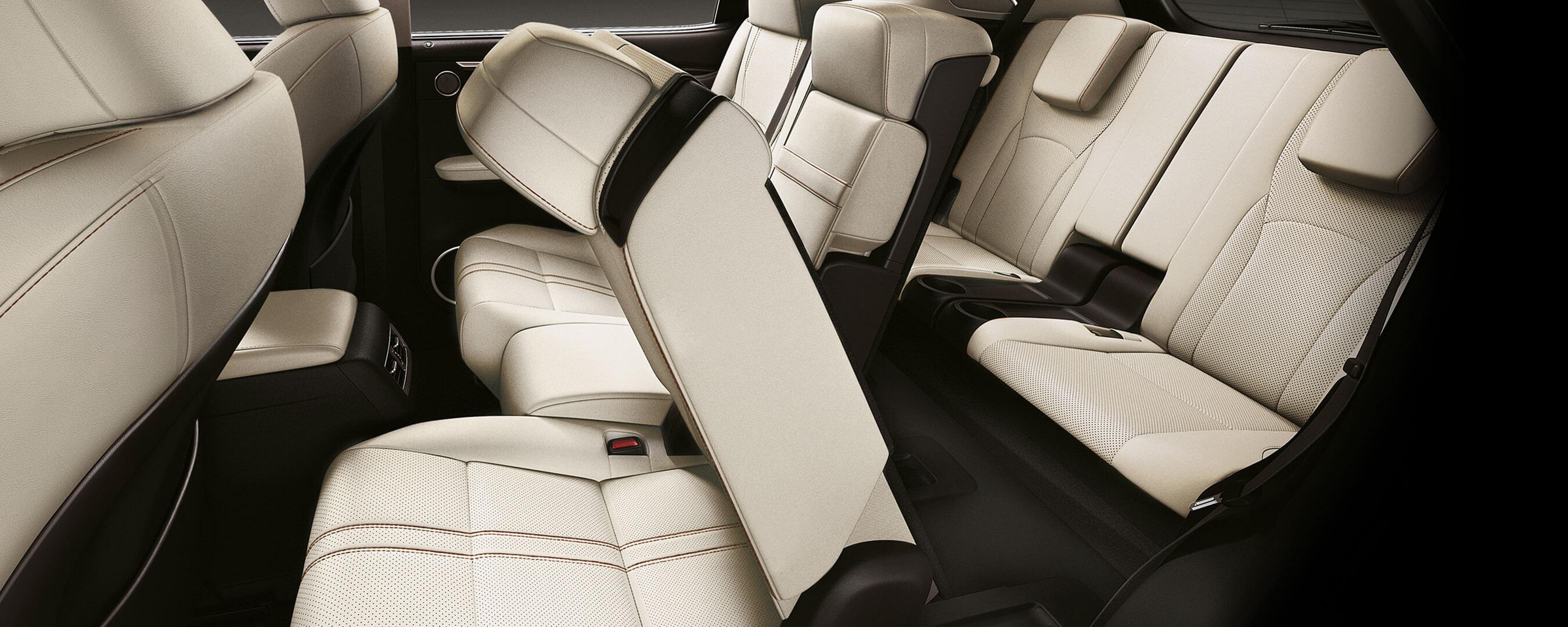 2019 lexus rxl experience rear interior