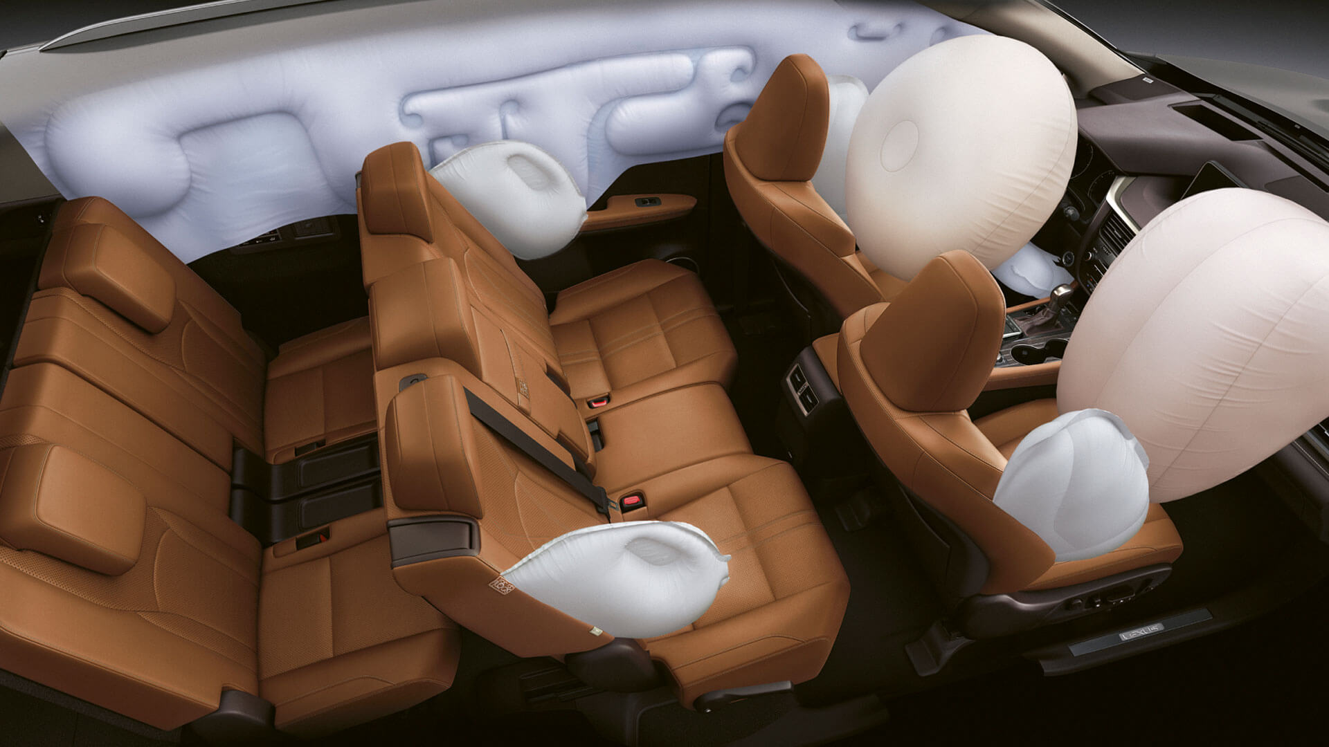 2019 lexus rxl hotspot airbags