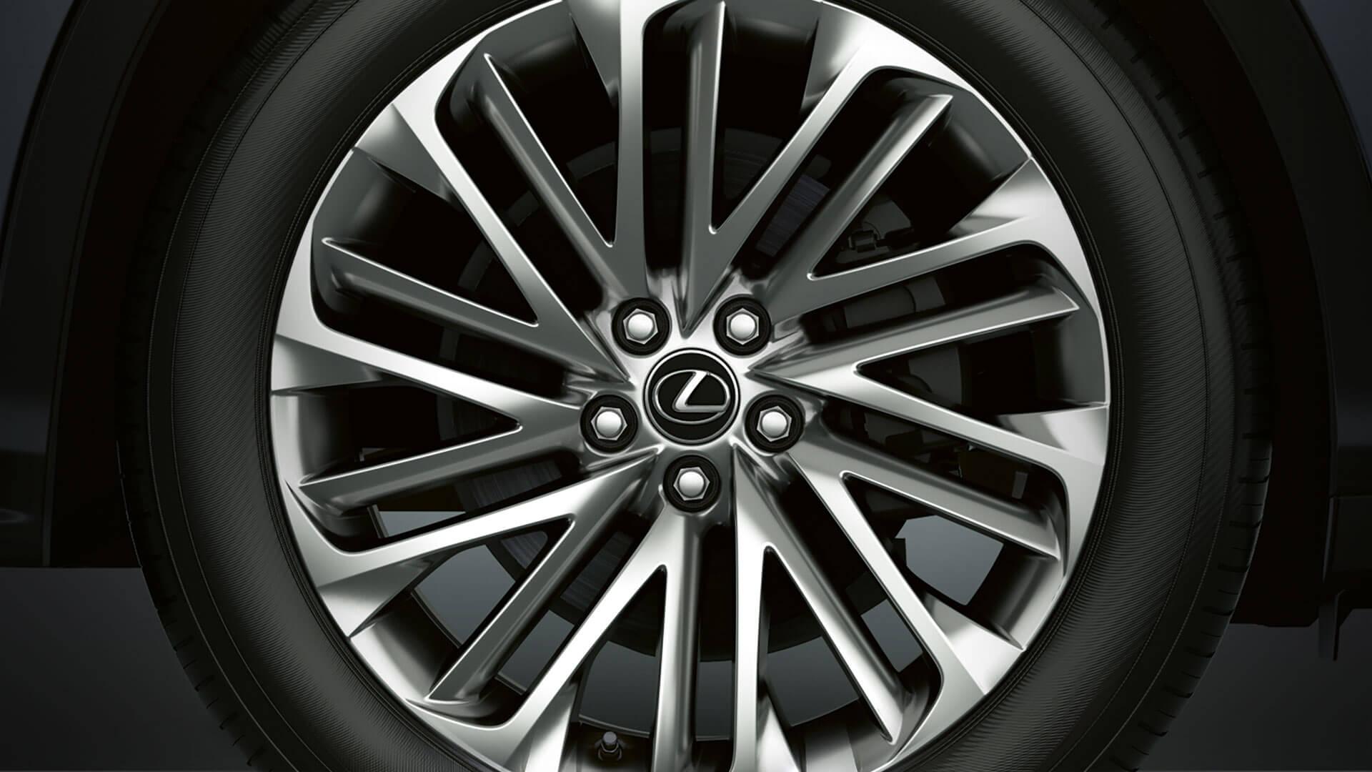 2019 lexus rxl hotspot exterior 20 inch alloy wheels