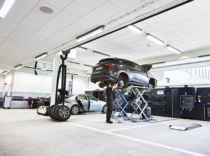 Lexus Stockholm Söder Skadecenter