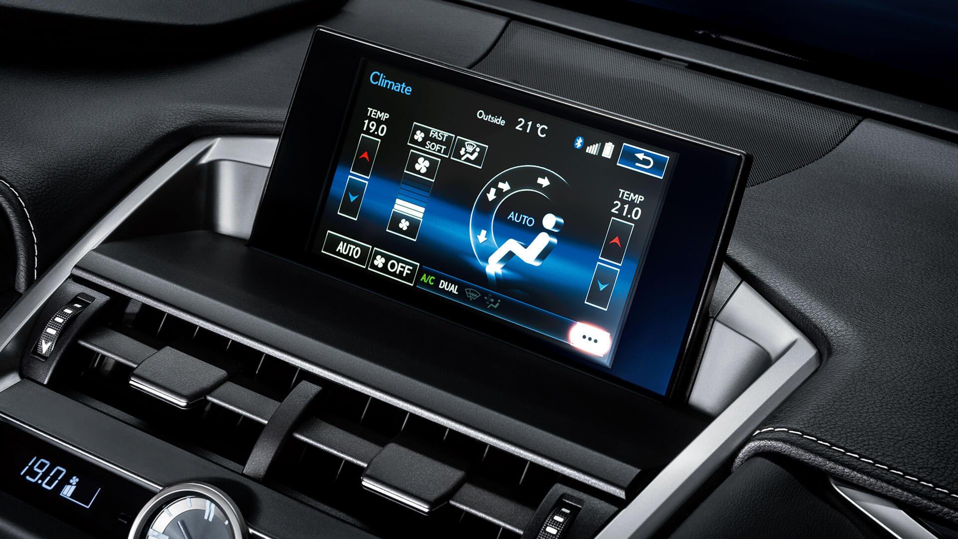 2017 lexus nx 200t features climate control