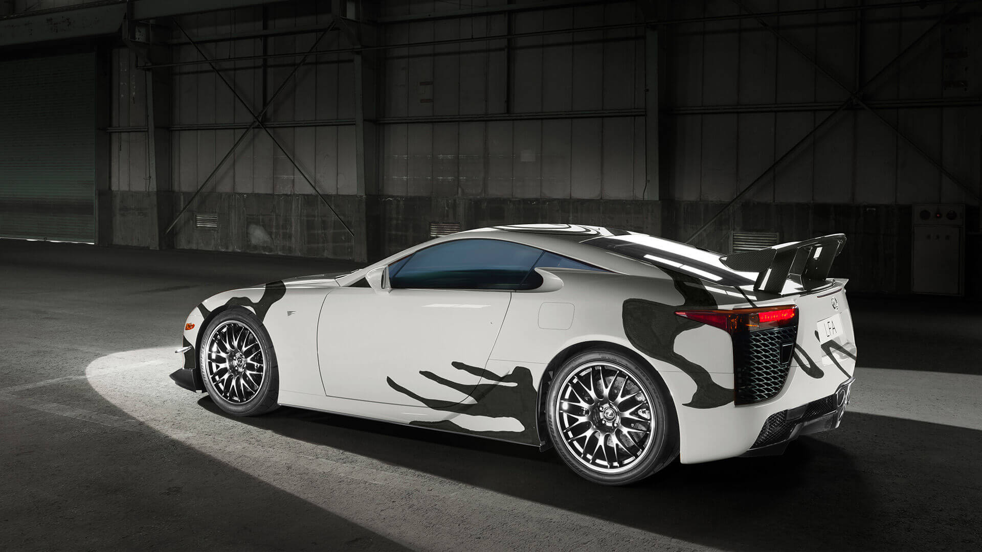 2018 lexus lfa art car