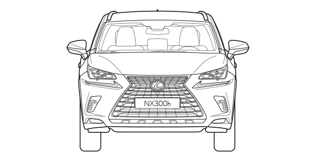 NX Front Dimensions