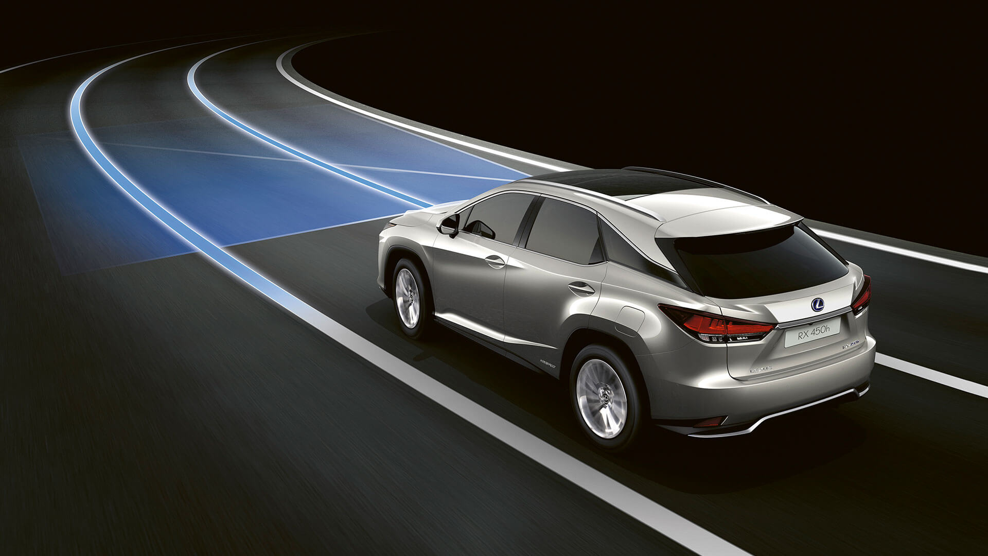 2019 lexus rx hotspot lane tracing assist
