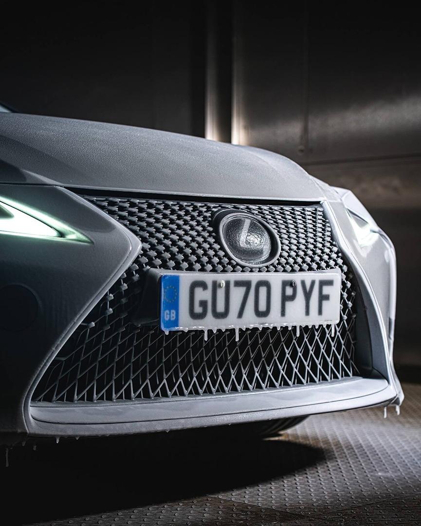 Lexus'un Üstü Açılan LC Convertible Modeli gallery03