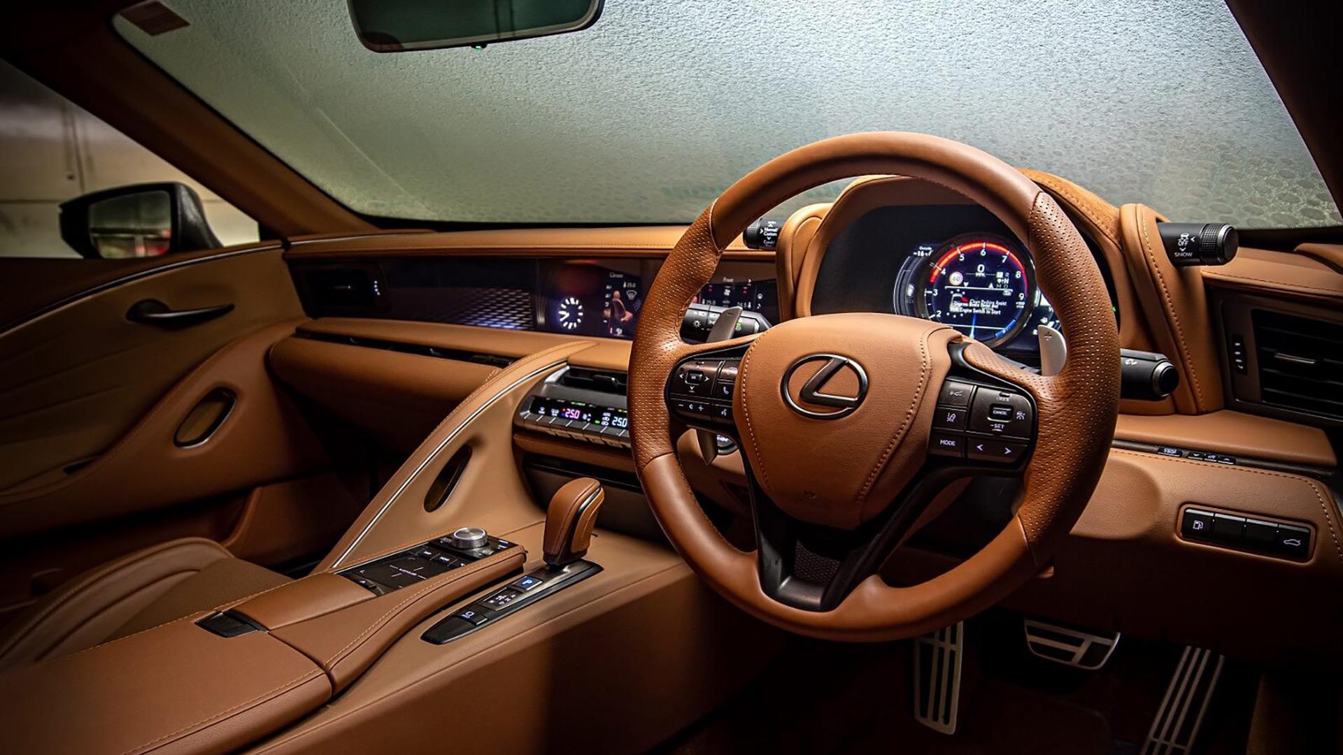 Lexus'un Üstü Açılan LC Convertible Modeli gallery04