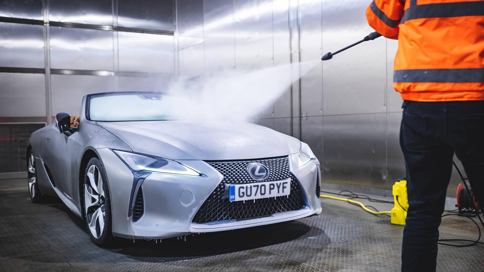 Lexus'un Üstü Açılan LC Convertible Modeli gallery05