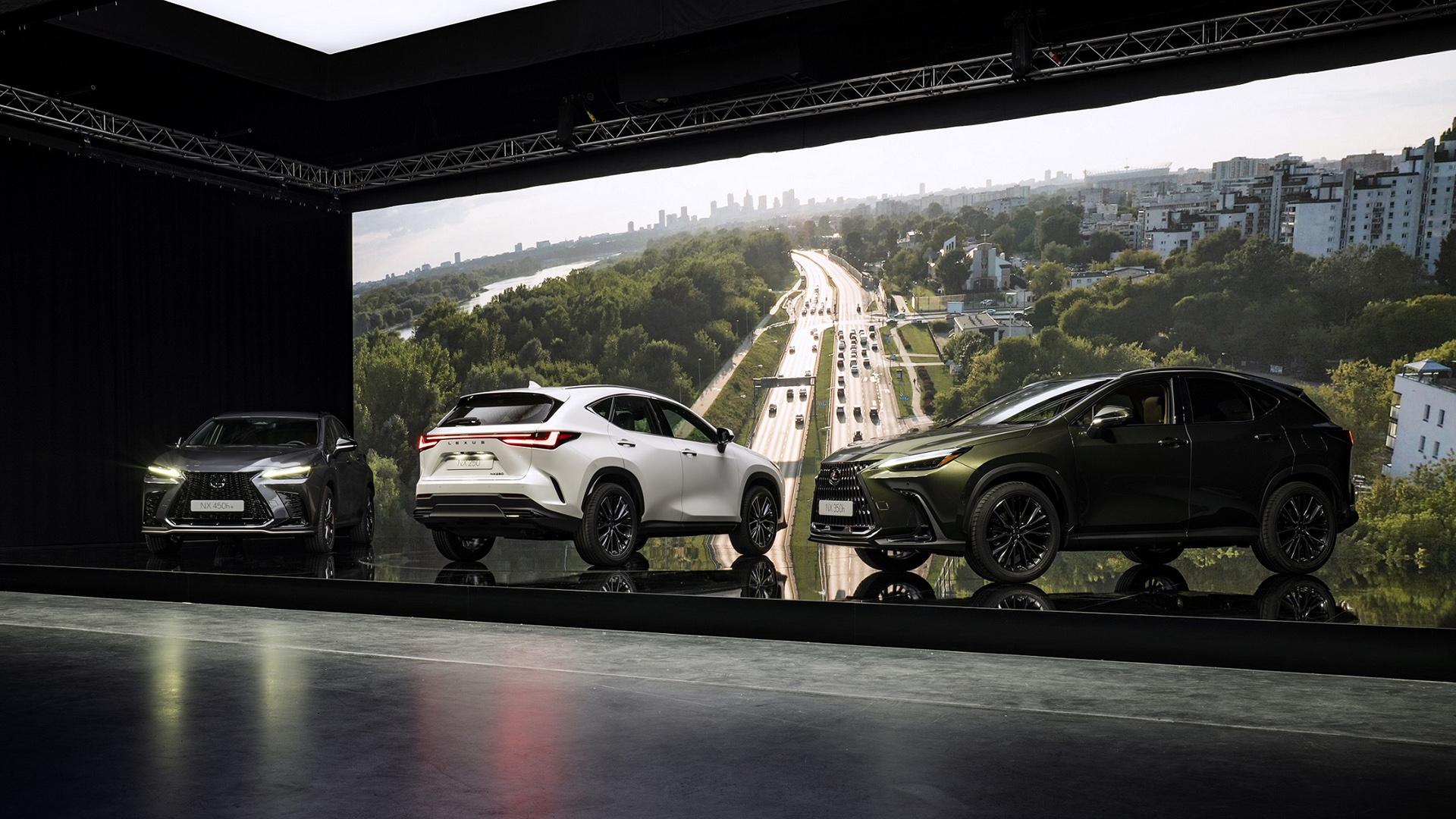 Yeni Nesil NX SUV'un Dünya Prömiyerini Gerçekleştirdi gallery06