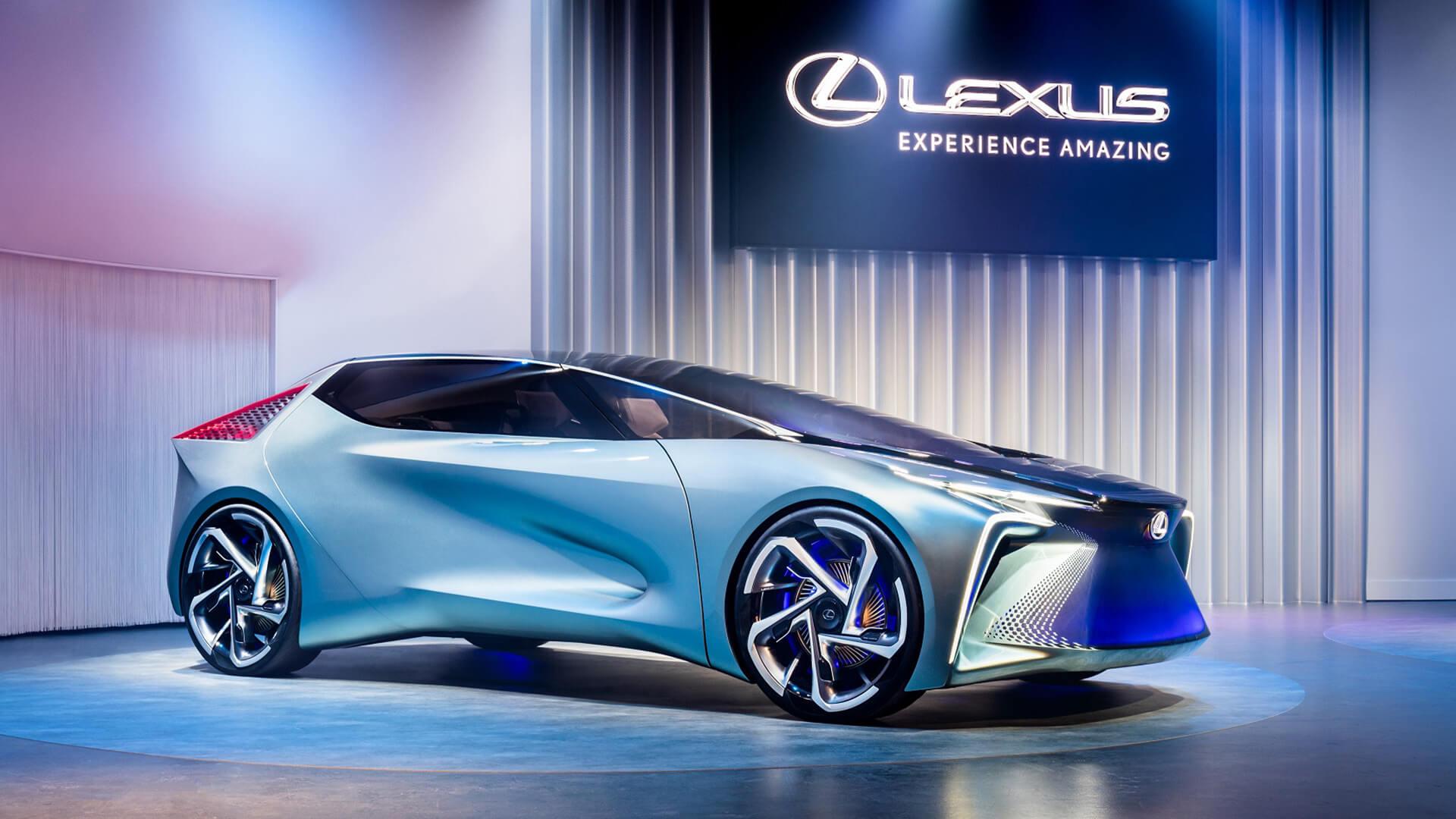 lexus bugunun ve gelecegin elektrikli vizyonunu kenshiki forumda sergiledi