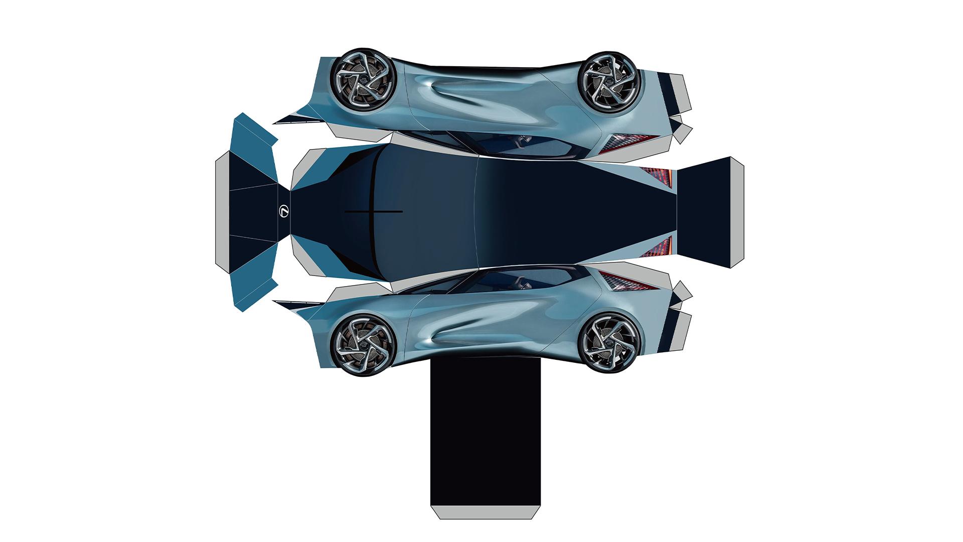 konsept otomobil lexus lf 30 evinizde