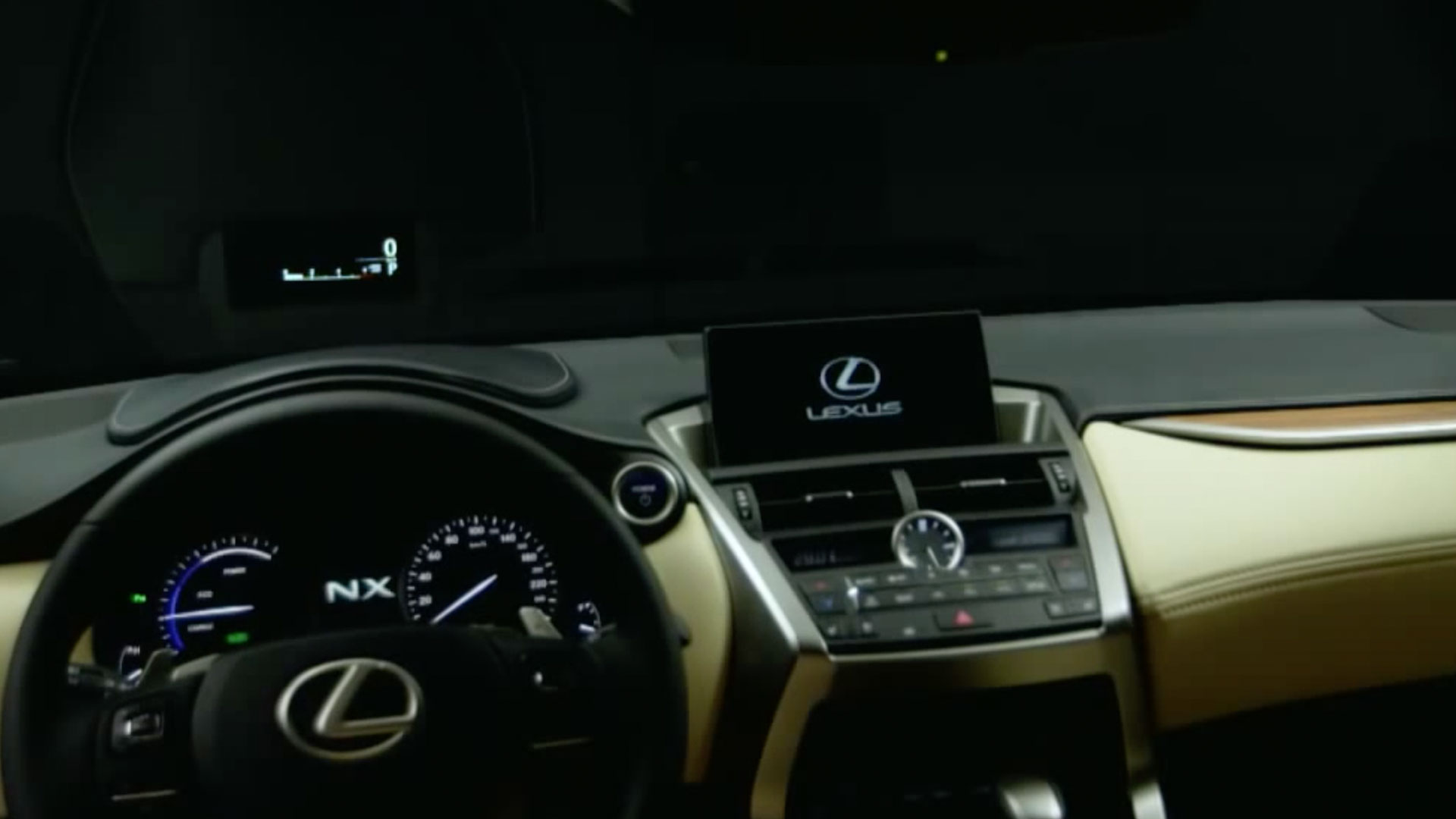 2017 lexus nx 300h head up display