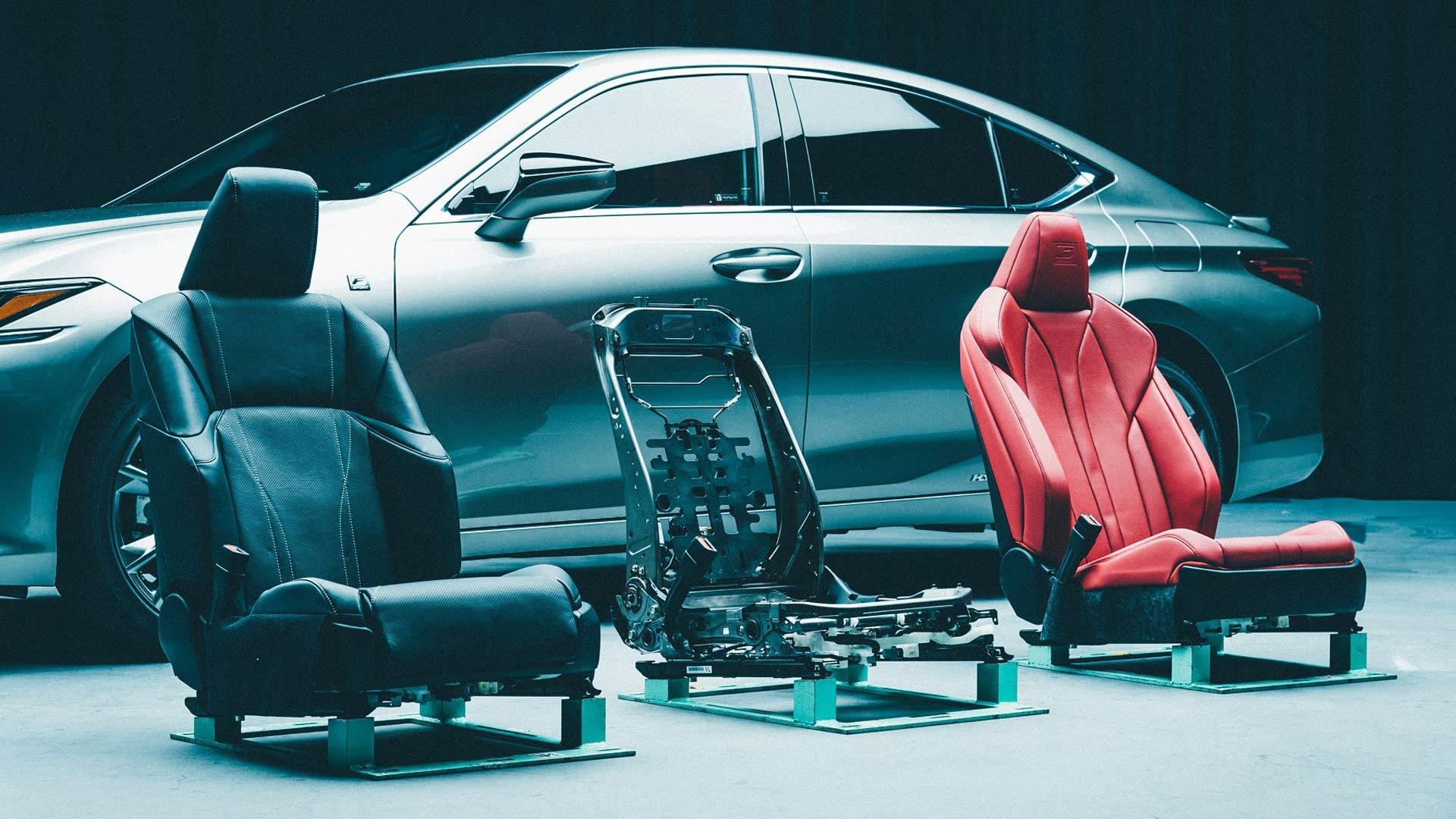 Lexus'un Sadece Koltukları Bile 3 Yıllık Çalışmanın Ürünü 1920x1080 v2