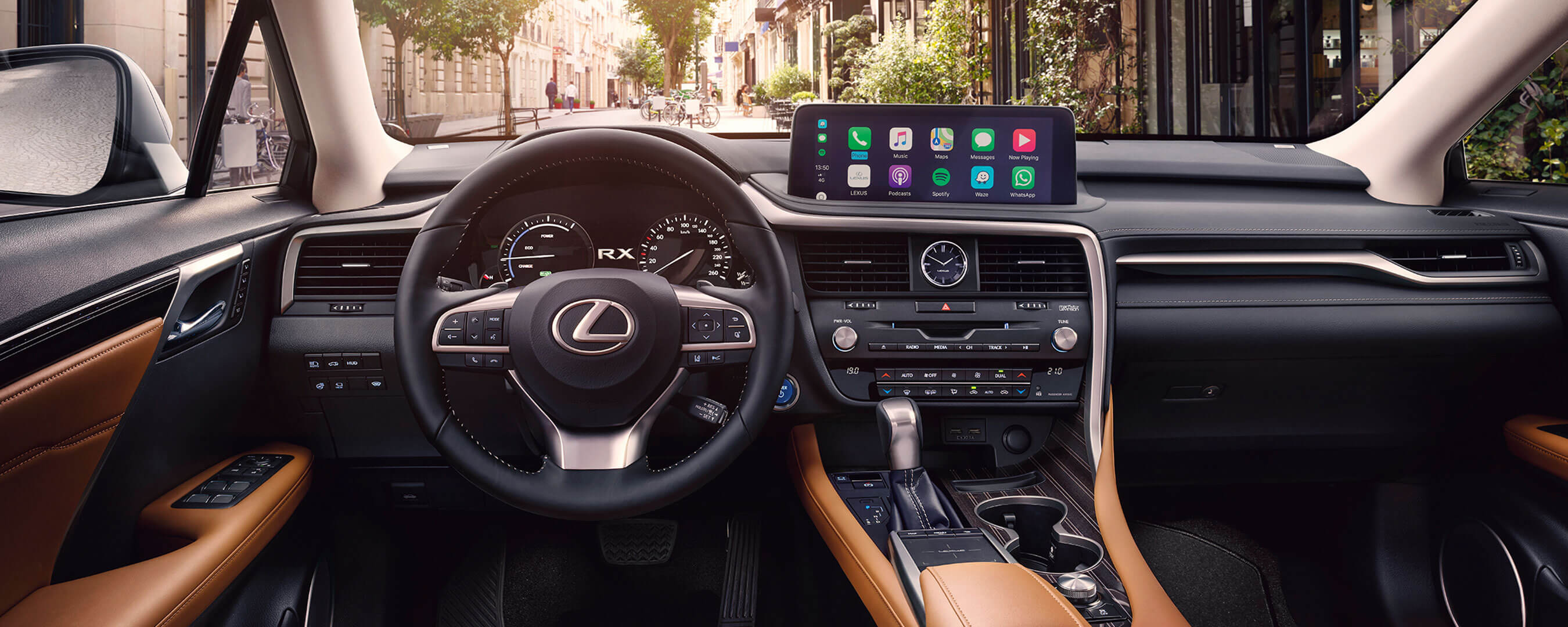 2020 lexus rx experience interior front