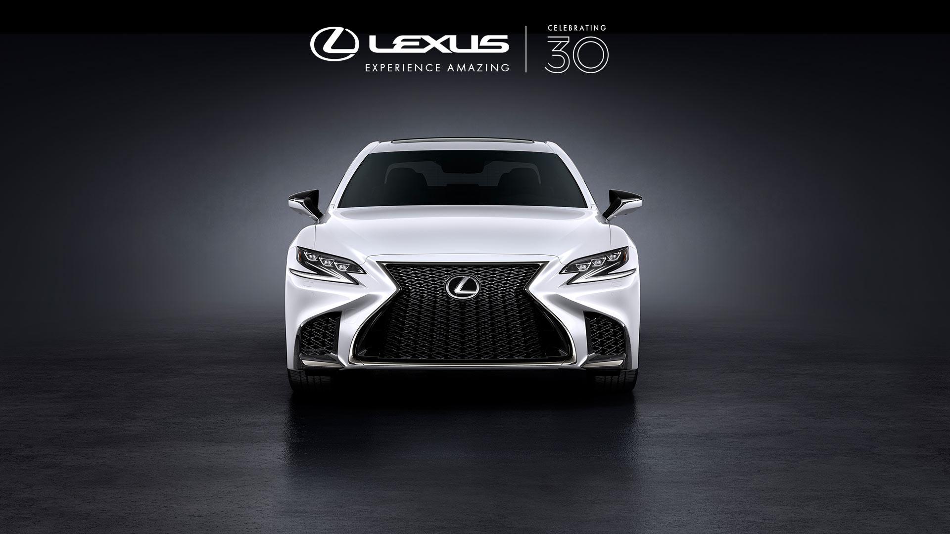 Lexus 30 rokiv portrait